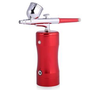 Mini aerógrafo para pintura, pulverizador pequeño, conjunto de lápiz de bombeo, compresor de aire, Kit para arte, pintura corporal, tatuaje, fabricación de modelos de pastel