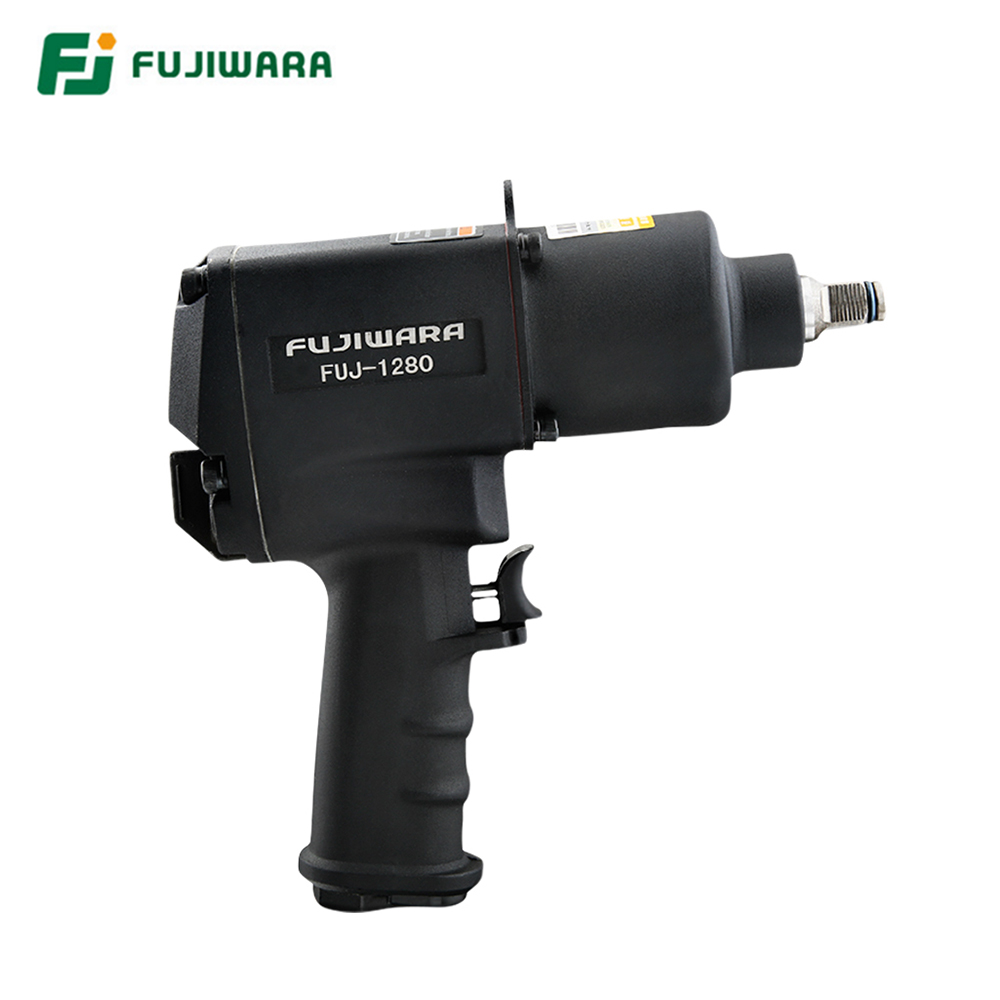 Tools : FUJIWARA Air Pneumatic wrench 1 2inch 1280N M  Impact Spanner Large Torque Pneumatic Sleeve Pneumatic Tools