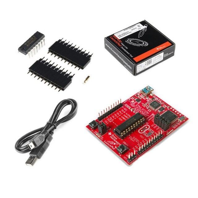 Placa de desenvolvimento msp430 msp-exp430g2 launchpad