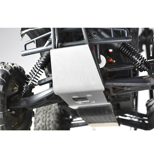 Image 3 - rc parts Stainless steel skid plate chassis armor protection for SAVAGE FLUX XL 4.6 5.9