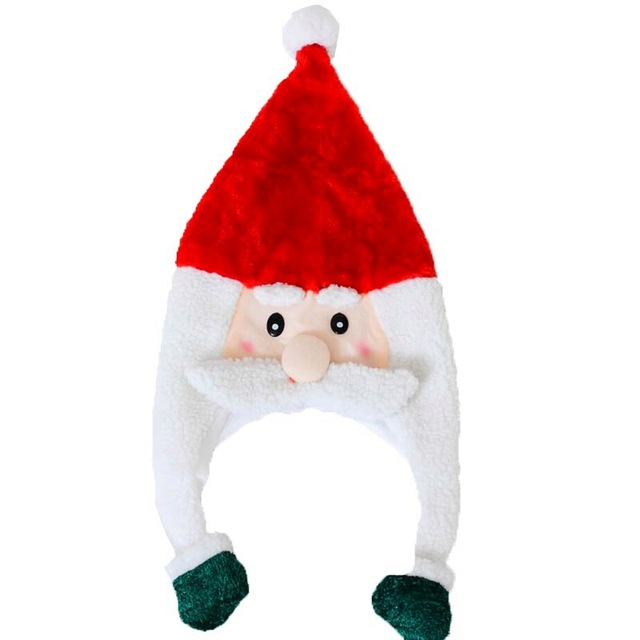 50dd218faf908 Snowman Santa Claus Christmas Hats Cute Christmas Caps For Adult And Kids  XMAS Decoration New Year s