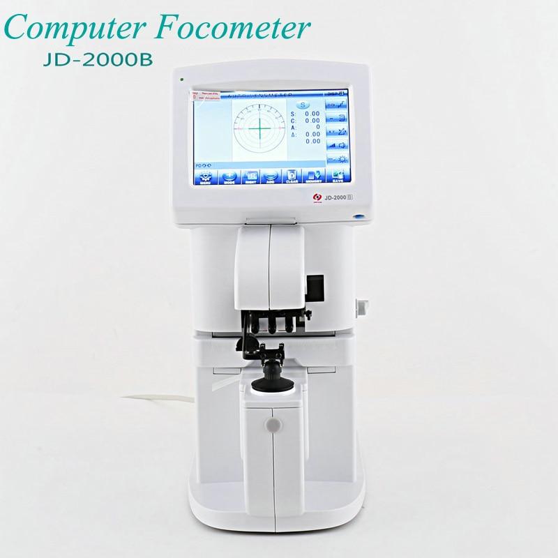Ordinateur Focus mètre écran tactile ordinateur focomètre lunettes équipement Instrument Intelligent système d'exploitation JD-2000B