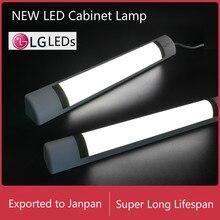 Nordic LED Closet Lighting 40cm Kitchen Wardrobe Under Cabinet Lamp Bathroom Mirror Lamp Bookcase Desk Work