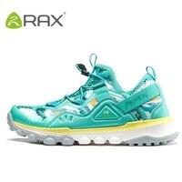 Rax 하이킹 신발 여성 운동화 슈퍼 라이트 충격 흡수 등산 야외 신발 여성 모든 지형 하이킹 신발 # b2516