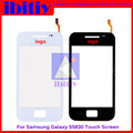 "Highest quality 3.5"" For Samsung Galaxy Ace S5830 Touch Screen Digitizer Sensor Front Glass Lens Black and White"