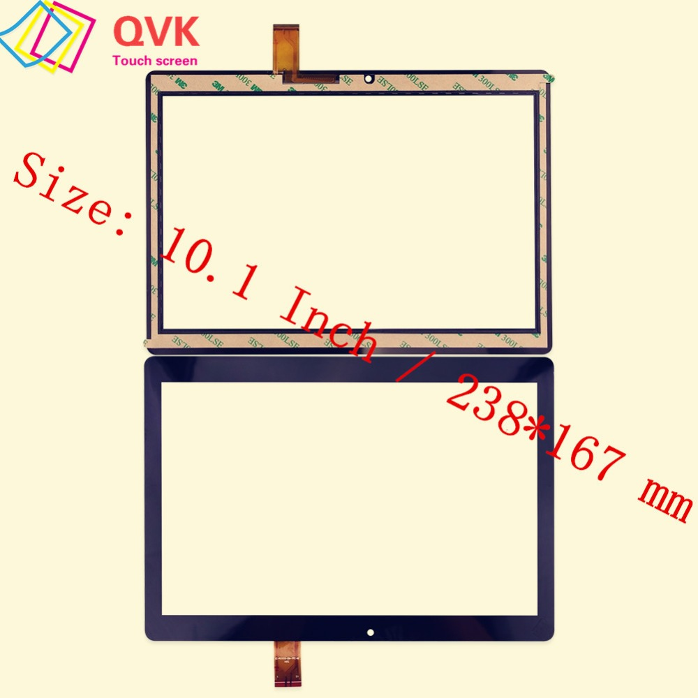 Black 10.1 Inch For Digma Plane 1584S 3G PS1201PG Capacitive Touch Screen Panel  P/N HZYCTP-101886A