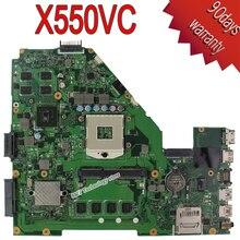 NVidia GeForce GT720M REV3.0 X550V X550VC R510V Placa Madre Del Ordenador Portátil 2G Ram 4G de memoria a bordo Pga 989 HM76 totalmente probado