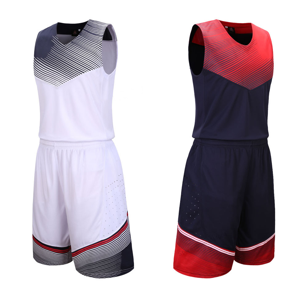 "Adsmoney סטי ערכות מדים ארה""ב כדורסל ספורט לנשימה בגדי צוות אישית מכללת ג 'רזי כדורסל גופיות נסיגה"