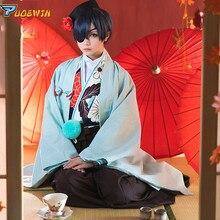 Black Butler Kuroshitsuji Ciel Phantomhive Kimono Uniforms Cosplay Costume In Stock