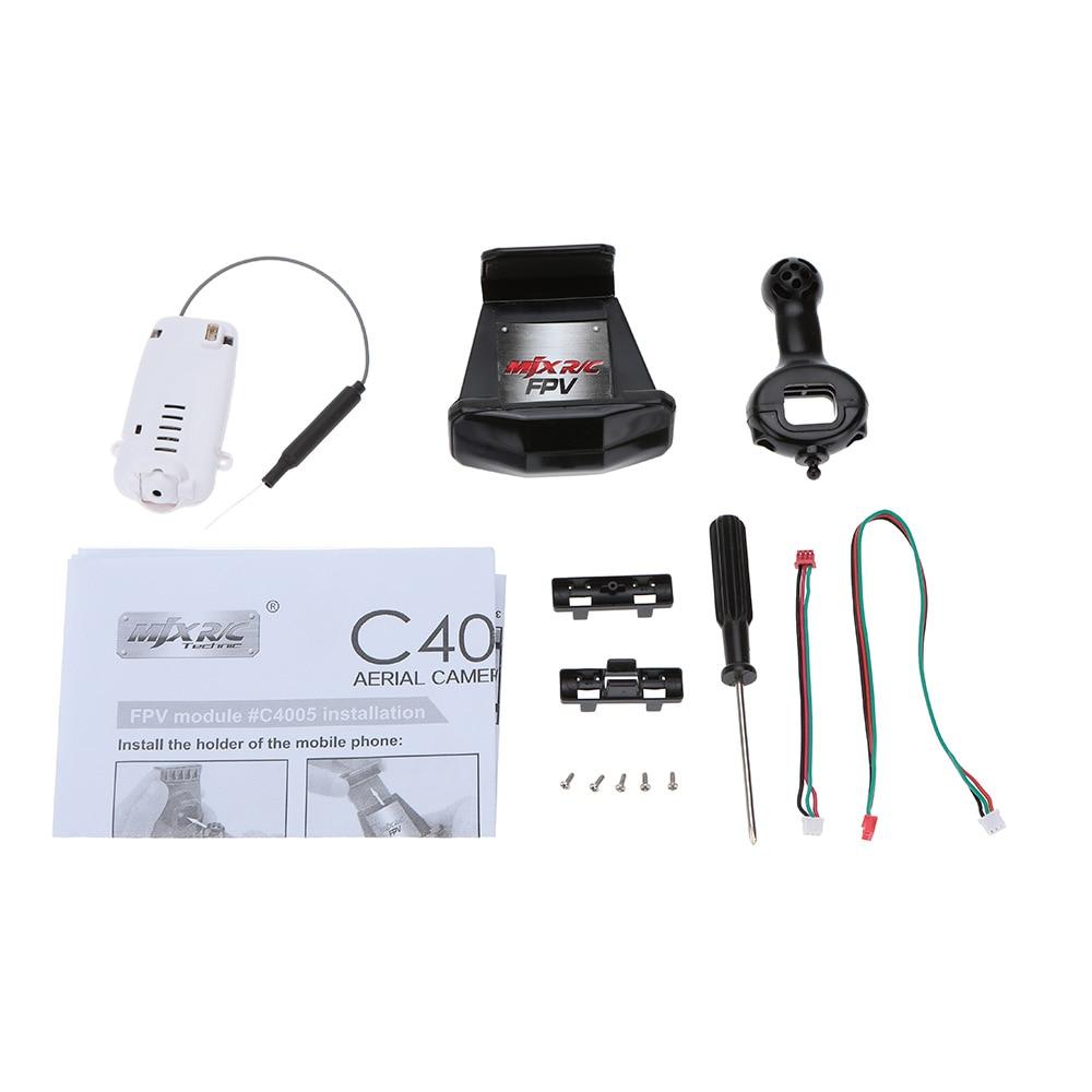 ФОТО Brand MJX C4005 FPV Aerial Camera Components for MJX T64 T10 T55 T57 RC Helicopter X400 X500 X600 X800 RC Quadcopter Parts
