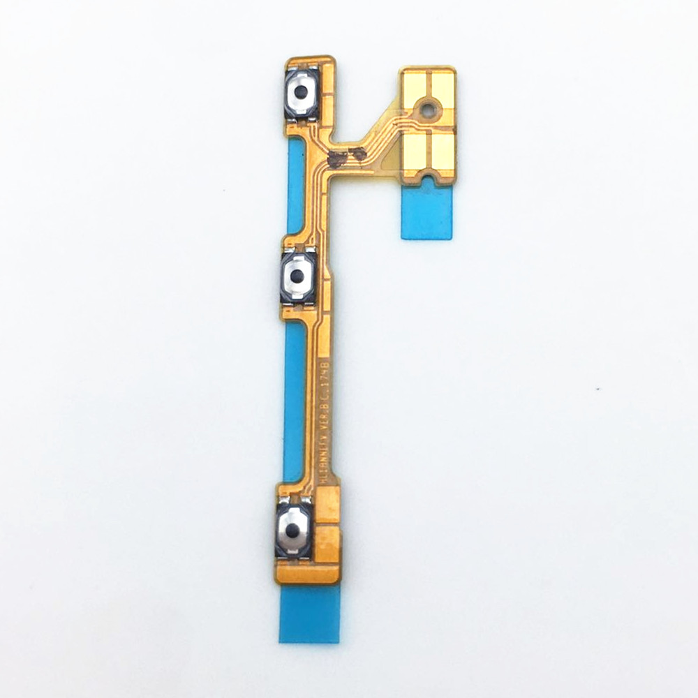 For HW P20 Lite Power On Off Button Flex Cable Mute Volume Switch Flex HW P20 Lite Replacement Part