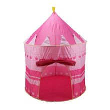 Pink Girls Childrens/Kids Pop-Up Princess Play Tent Castle PlayHouse Indoor/Outdoor Garden