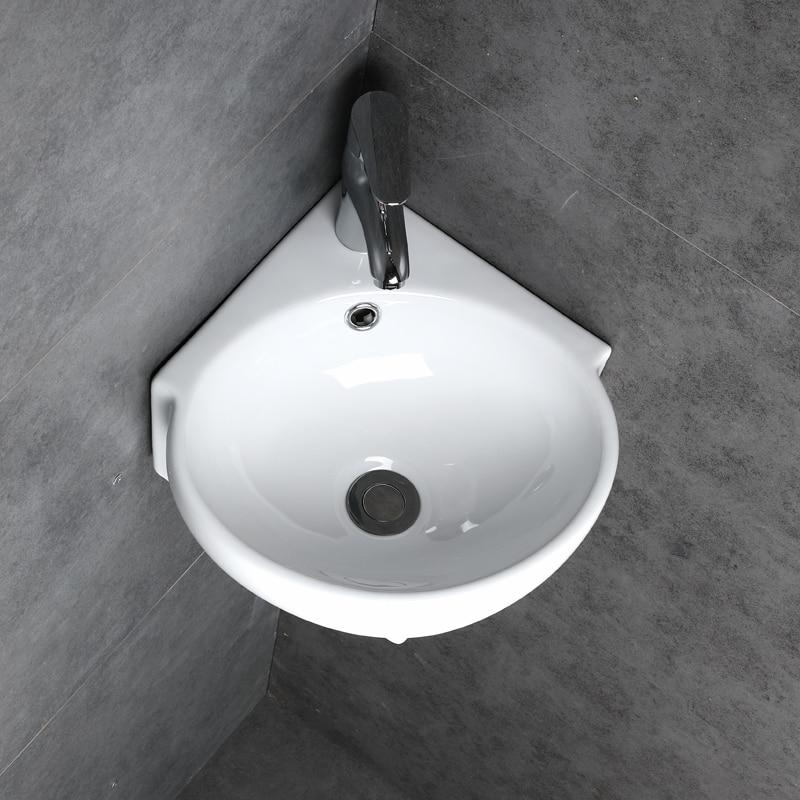 Small corner wash basin fall protection preparation 6 steps