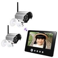 Fimei SY903D12 дюймов 9 дюймов TFT ЖК дисплей экран Мониторы 2.4g беспроводное устройство Визуальный Водонепроницаемый ночное видение IP камера домоф