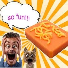 Забавная игрушка для удаления прыщей, многоразового использования, прыщей, гной, розыгрыши, облегчение стресса, мягкие игрушки