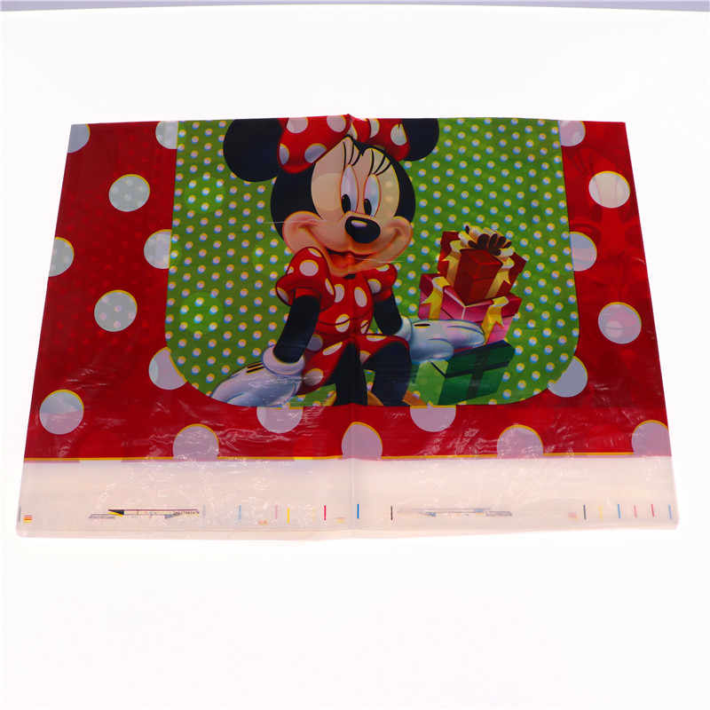1Pc Minnie Mouse Theme Birthday Party Supplies Disposable Tablecloths For Birthday Party Decorations Kid Favor Baby Shower