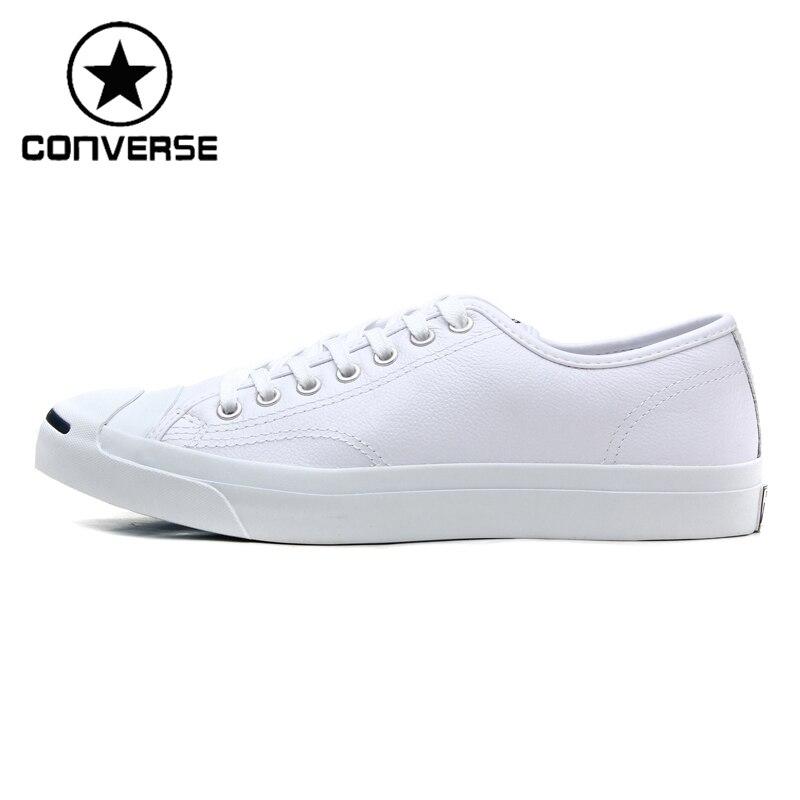 Prix pour Original Nouvelle Arrivée 2017 Converse Classique Unisexe Planche À Roulettes En Cuir Chaussures Sneaksers