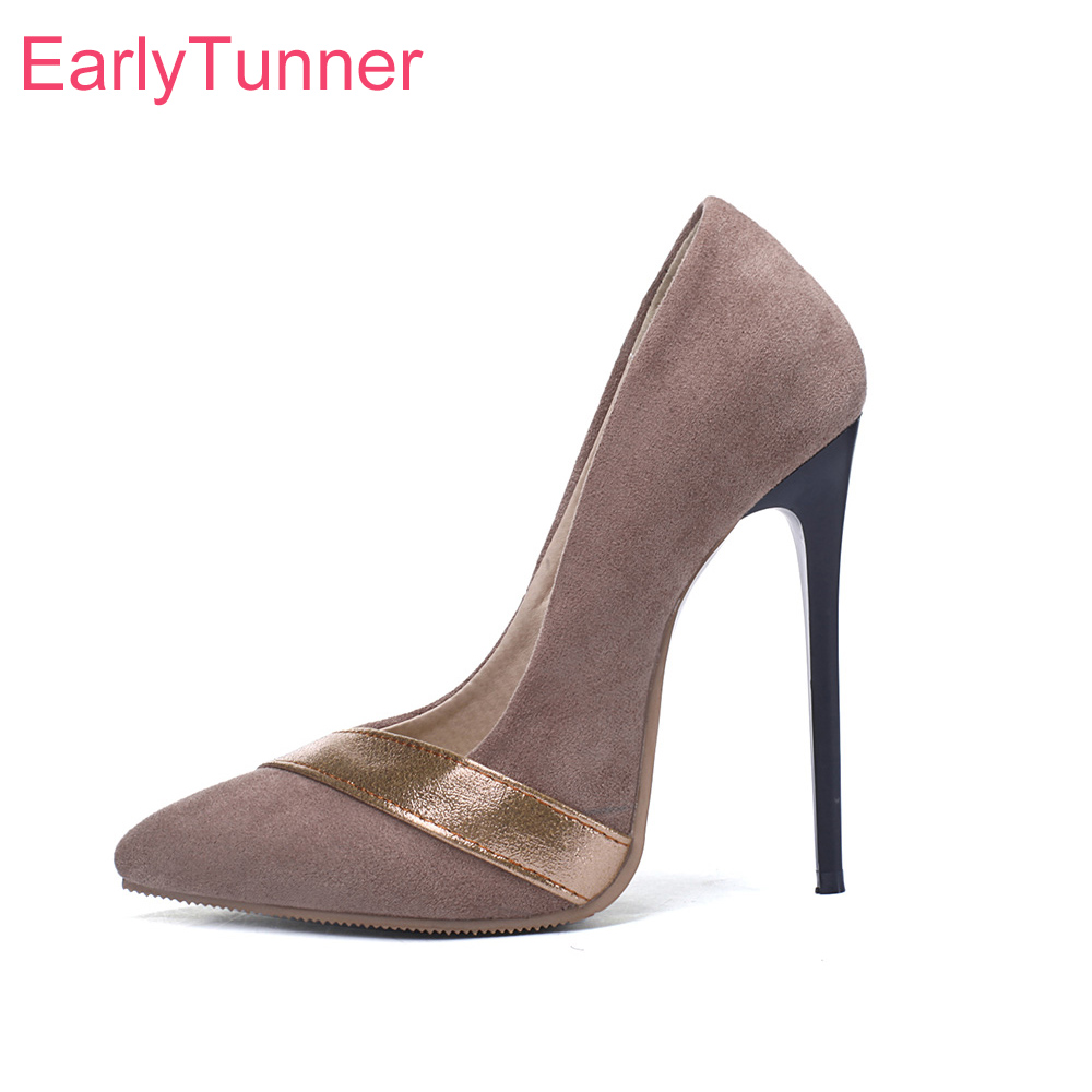 836804909b32994 Новинка 2019 года; пикантные женские туфли-лодочки под платье абрикосового,  винно-Красного цвета; женские свадебные туфли на высоком каблуке-.
