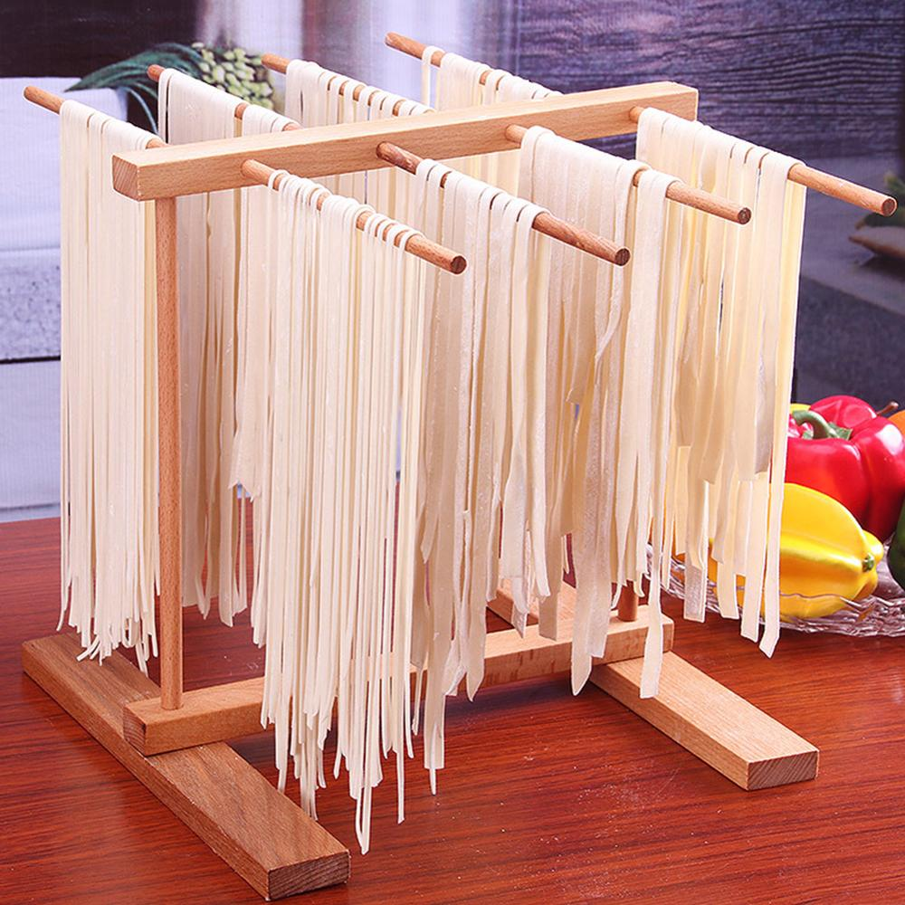 Collapsible Noodles Drying Holder Hanging Rack Pasta Drying Rack Spaghetti Dryer Stand Pasta Cooking Tools Kitchen Accessories image