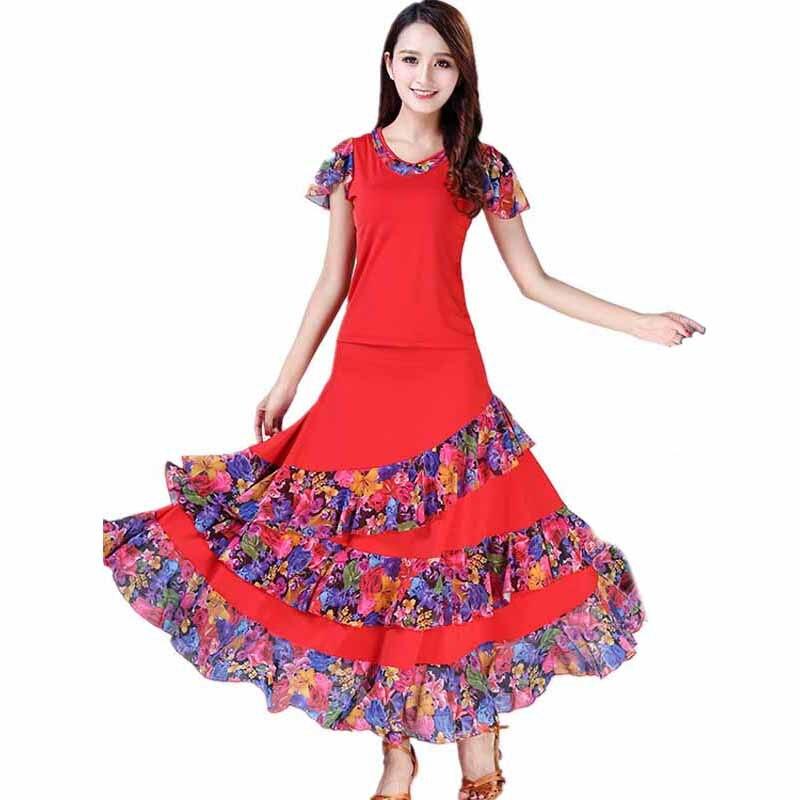 ballroom dance dress standard dance costume for lady competition waltz dress tango dancing wear grils trot dancewear L-XXL (6)