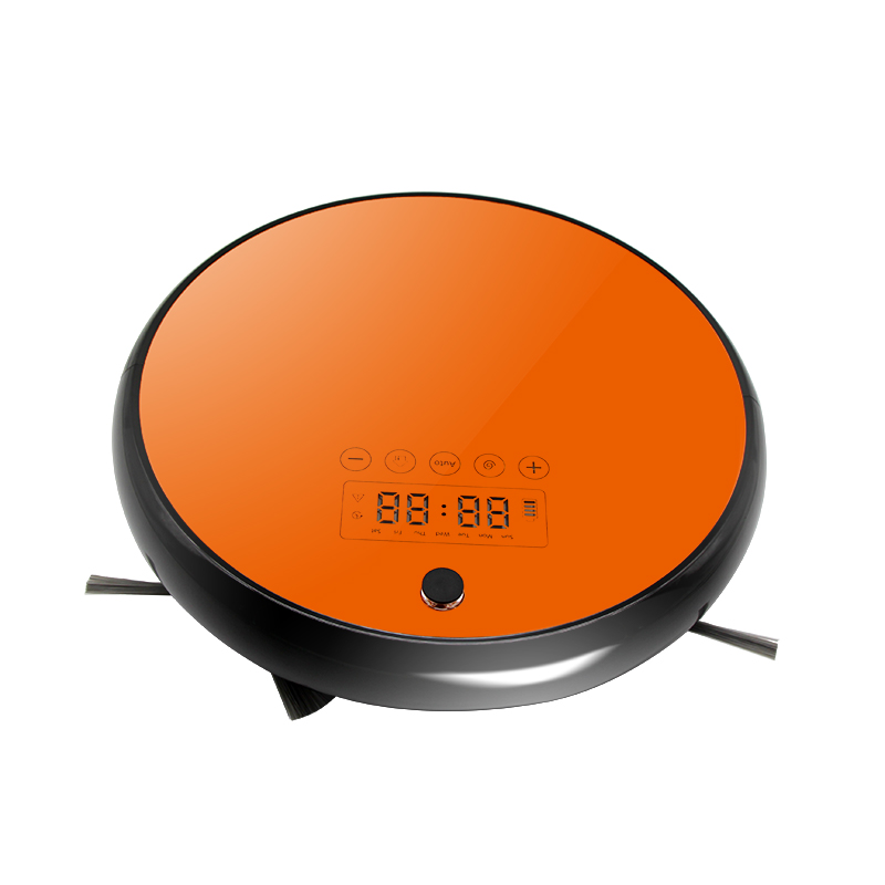 Pro Robot Vacuum Cleaner with Self-Charge Wet or dry Mopping for multiple Floorfree shipping by DHL tocool v7s pro robot vacuum cleaner with self charge wet mopping for wood floor