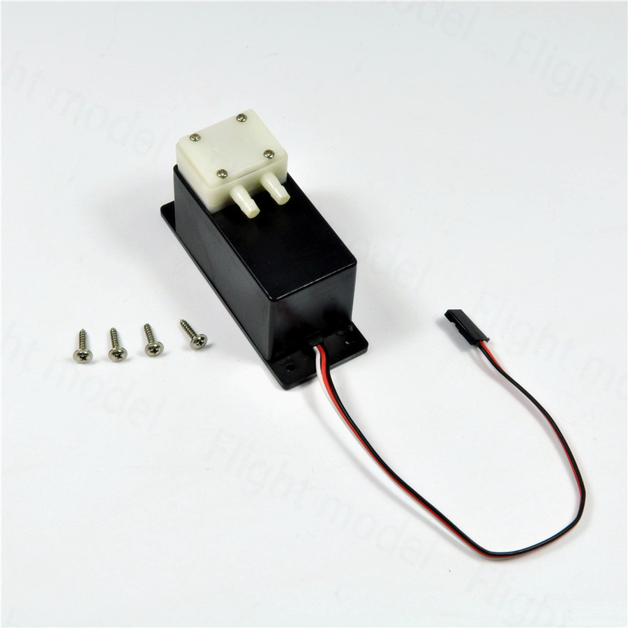 Mini Electric Smoke Pump Gasoline Smoking Pump System For RC Model Airplane