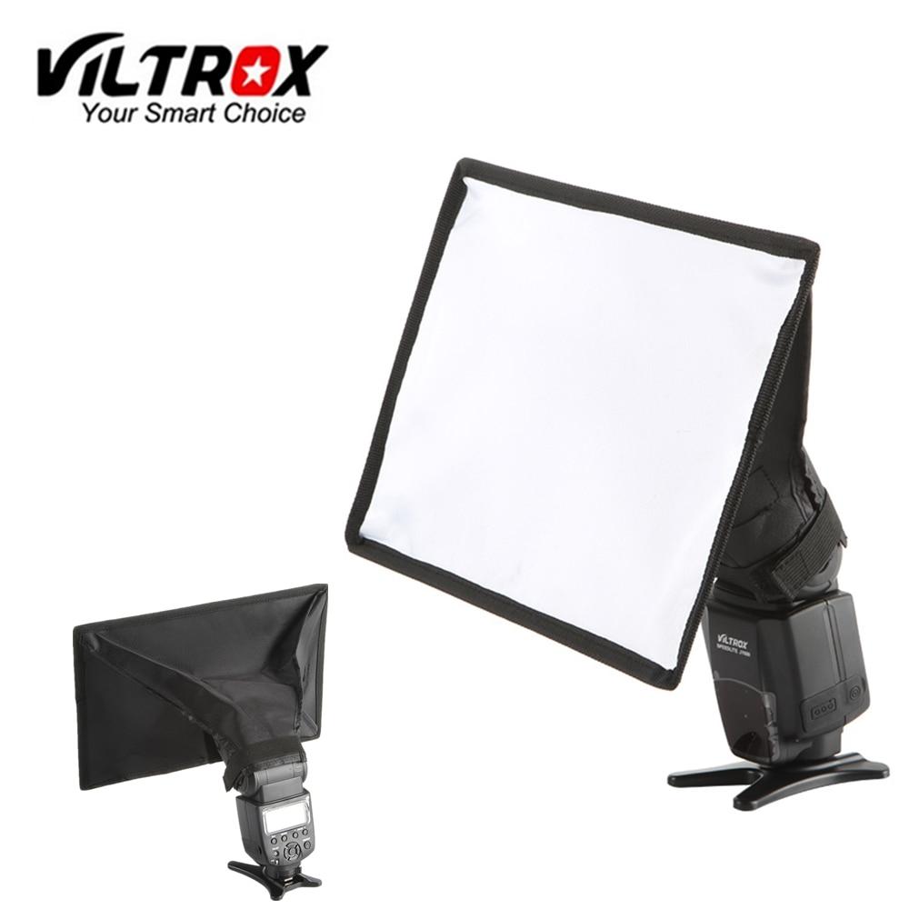 Viltrox 15x17 cm Flash Speedlite Universal Mini Portable difusor de Softbox para Canon Nikon Sony Godox Viltrox JY-680A JY-680Ch