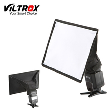 Viltrox 15x17cm פלאש Speedlite אוניברסלי מיני נייד Softbox מפזר עבור Canon Nikon Sony Godox Viltrox JY 680A JY 680Ch