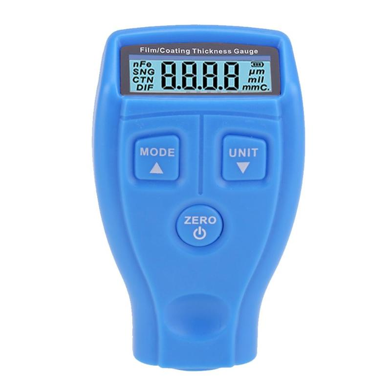 Handheld Coating Painting Thickness Gauge Russian English Edition Lacquer Metal Film Tester Width Measuring Instruments Tool