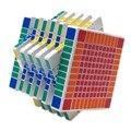 SHENGSHOU 11x11x11 cubo mágico colores negro blanco rompecabezas profesional Speed cubo mágico juguete educativo