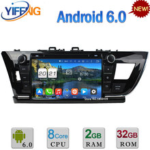 Android 6.0 9″ 32GB ROM Octa Core WIFI 2GB RAM 4G DAB Car DVD Player Radio For Toyota Corolla Left Hand Driving 2013 2014 2015