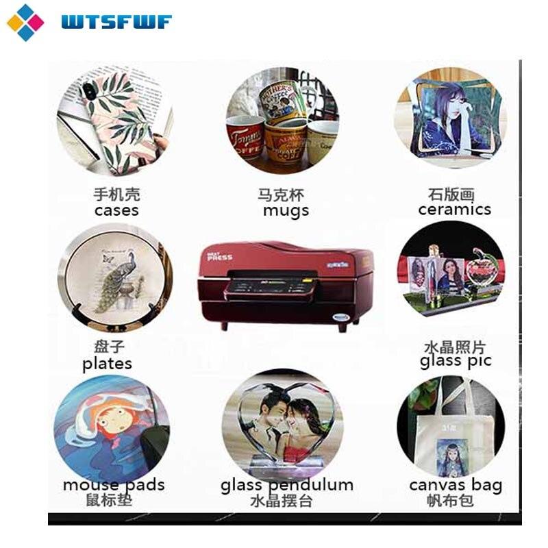 Freeshipping wtsfwf a3 ST 3042 3d sublimação impressora da imprensa de calor máquina da imprensa do calor para casos canecas placas vidros cerâmica madeira - 4