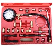 Inyector de Combustible 140PSI Presión Probador Herramienta Del Calibrador de Coche de Gasolina de Inyección de Prueba de Gas