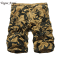 Summer Men Casual Shorts Men fashion Camo Cargo Shorts Military Camouflage Shorts Men Shorts Big Size 36 38 40 42
