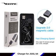 Veeape магнитное зарядное устройство Micro USB обновление 2,0 Магнитный кабель провод для быстрого заряда 80 см для JUL V2