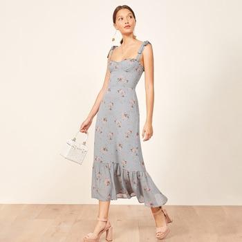 70a4f327d5d53 Nikita Blue Chic Midi Dress Women Summer Sleeveless Strapless ...