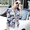 Новая коллекция весна 2017 уличная мода стиль цветочные печати короткая куртка женская кружева лоскутная куртка chaquetas mujer 5-цвета JK9