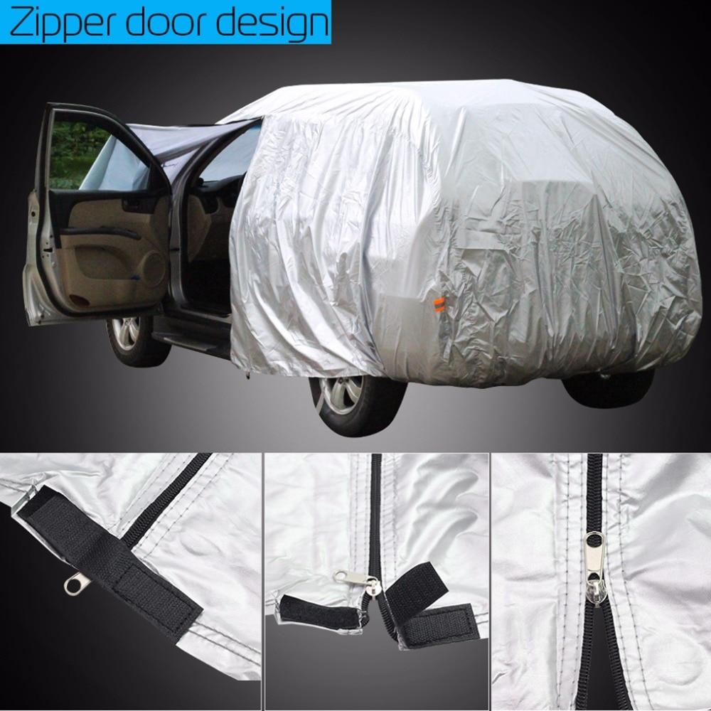 Cawanerl SUV Car Cover Outdoor Sun Rain Snow Resistant Cover For Mercedes Benz GLK200 GLK220 GLK250 GLK280 GLK300 GLK320 GLK350