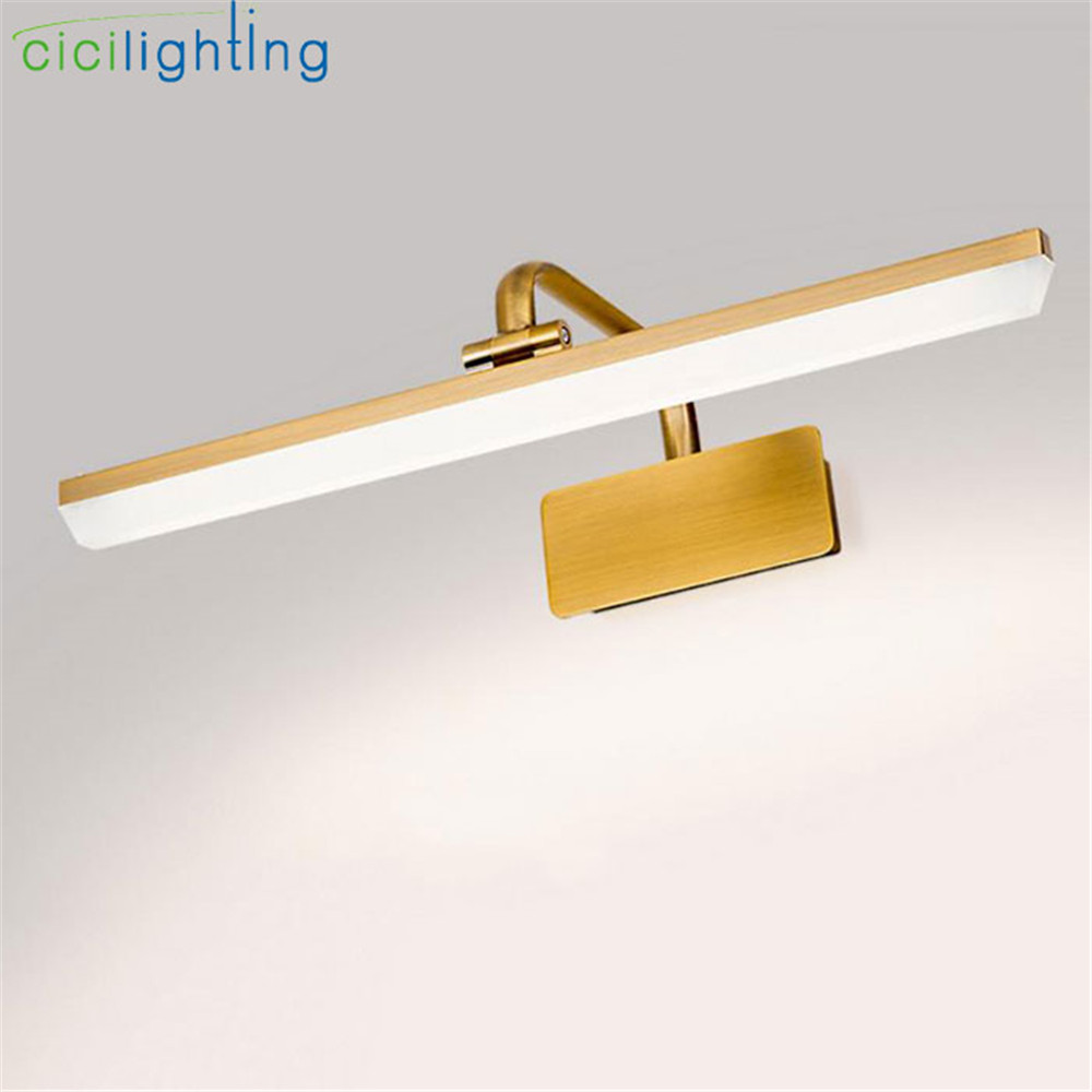 2018 New Arrival Bronze LED Cabinet front mirror light 220V 240V 4000K Day white led bathroom vanity waterproof wall lamps server memory for 4g ddr3 1333 pc3 10600e ecc one year warranty