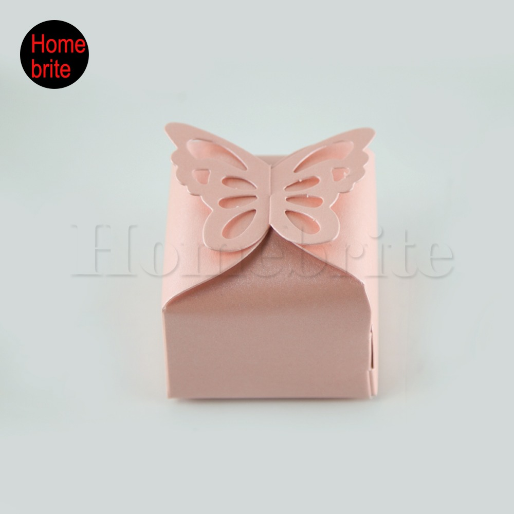 20 Pcs Hot DIY Party wedding Candy Box Butterfly Candy Box Paper ...