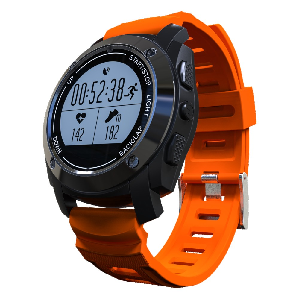 2017 New S928 GPS Outdoor Sports Smart Watch   Heart Rate Monitor Pressure for Android4.3 IOS8.0 above garmin fenix 5s sapphire 42mm sports gps heart rate watch with compass