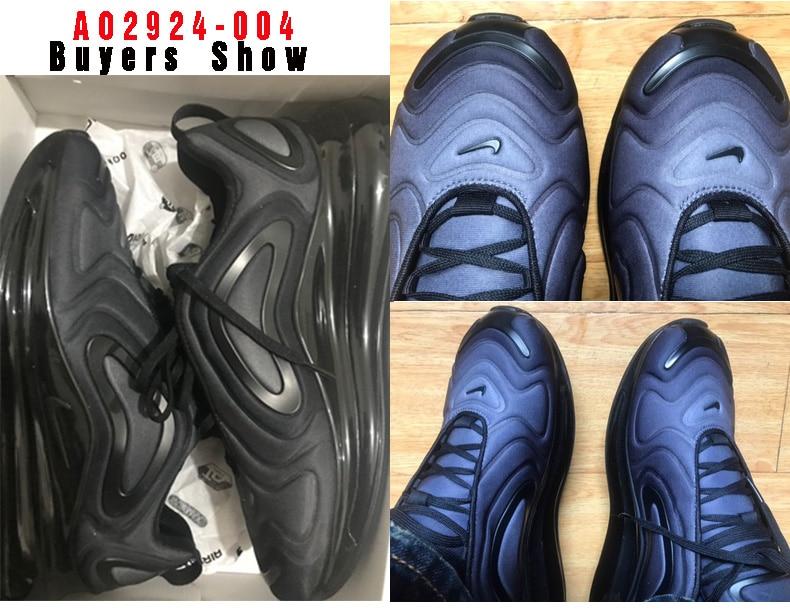 Nike Zapatilla Air Max 720 AO2924 023 Schwarz, 41