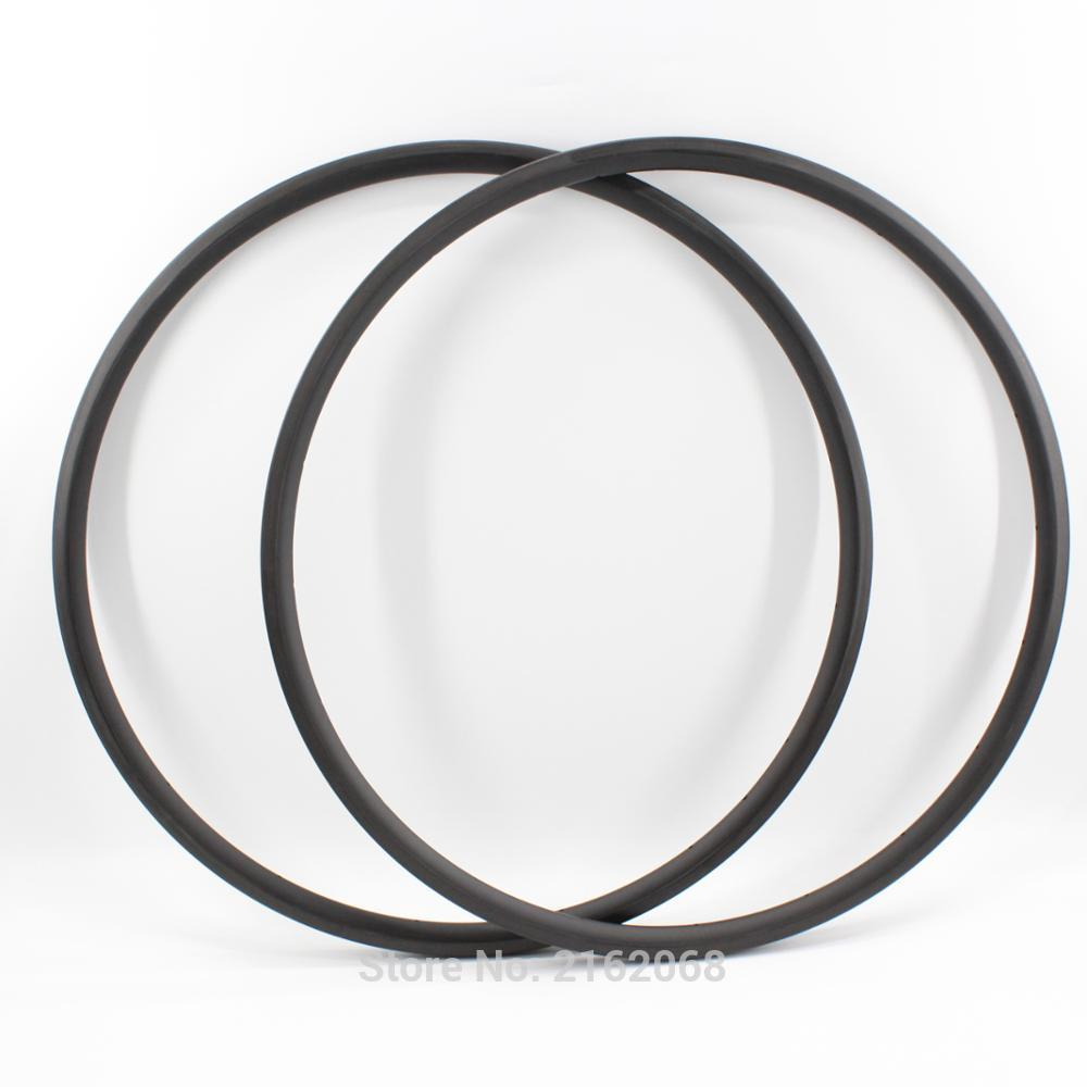 2pcs Newest lightest 700C 24mm clincher rims Road bicycle matt UD full carbon fibre bike wheelset rims 23mm width Free shipping newest raceface next sl road bike ud full carbon fibre saddle spider web mountain bicycle front seat mat mtb parts free shipping