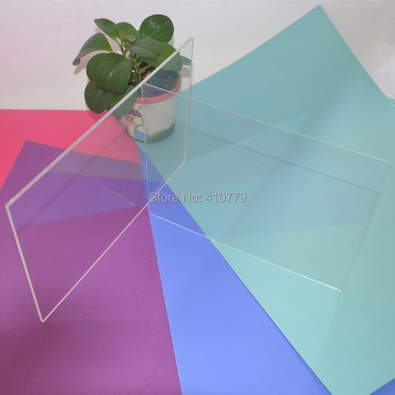 Acrylic Clear Sheet 400x300x3mm Plastic Transparent Business Cards ...