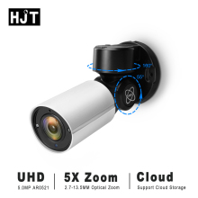 HJT PTZ UHD 5.0MP IP camera 4X Zoom Pan Tilt Outdoor IR Night vision Network P2P Security CCTV Cloud storage