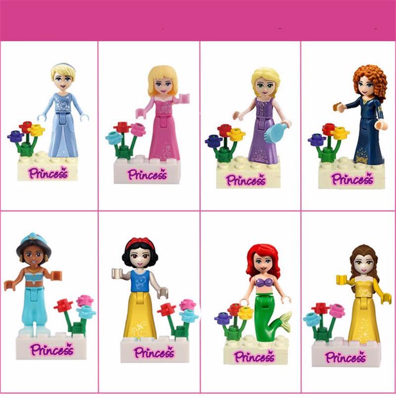 Принцесса Девушка Minifigure фото