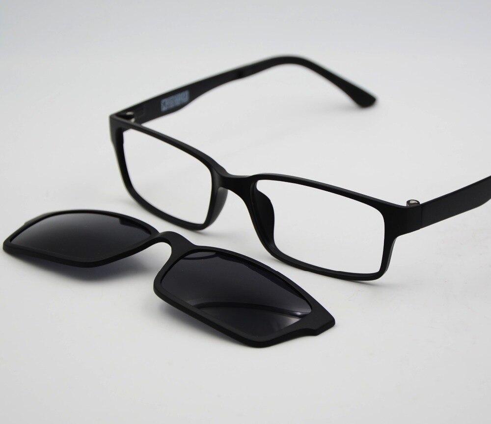 PK Polarized 79 ULTEM Sunglasses Magnetic Clip On Sunglasses Optical ...