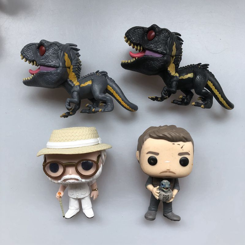 Action-Figure John Loose-Toy Vinyl Dinosaur Jurassic World-Indoraptor Funko Pop Owen