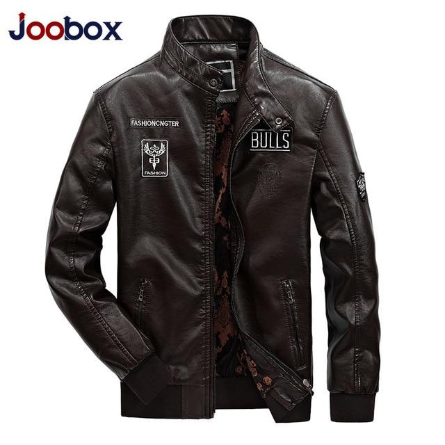 Winter Casual Leather Jaket Men Deri Mont Erkek Faux Jackets Slim Fit Coats Men Baseball Uniform Jaqueta De Couro Masculina 1