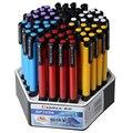 Шариковые ручки с синими чернилами 0 7 мм  24/60 шт.  канцелярские принадлежности для школьников  офисные принадлежности  принадлежности  ручки ...